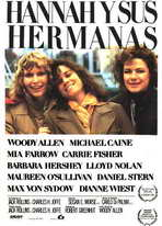 Hannah and Her Sisters - 27 x 40 Movie Poster - Spanish Style A