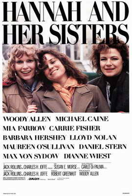 Hannah and Her Sisters - 27 x 40 Movie Poster - Style A