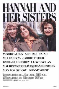 Hannah and Her Sisters - 43 x 62 Movie Poster - Bus Shelter Style A