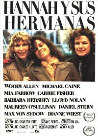 Hannah and Her Sisters - 11 x 17 Movie Poster - Spanish Style A