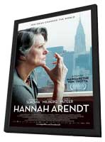 Hannah Arendt - 27 x 40 Movie Poster - Style A - in Deluxe Wood Frame