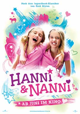 Hanni & Nanni - 11 x 17 Movie Poster - German Style A