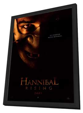 Hannibal Rising - 11 x 17 Movie Poster - Style A - in Deluxe Wood Frame