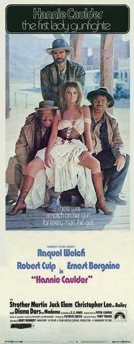Hannie Caulder - 14 x 36 Movie Poster - Insert Style A