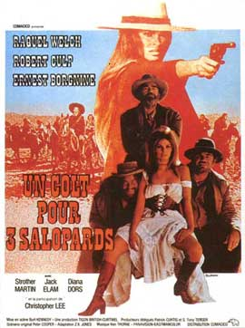 Hannie Caulder - 11 x 17 Movie Poster - French Style A
