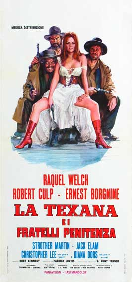 Hannie Caulder - 11 x 17 Movie Poster - Italian Style A