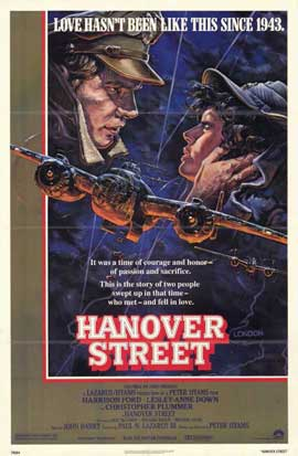 Hanover Street - 11 x 17 Movie Poster - Style A