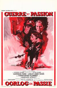 Hanover Street - 11 x 17 Movie Poster - Belgian Style A
