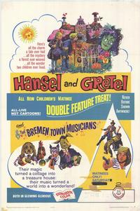 Hansel and Gretel / Bremen Town Musicians - 11 x 17 Movie Poster - Style A