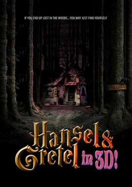 Hansel and Gretel in 3D - 27 x 40 Movie Poster - Style A