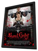 Hansel & Gretel: Witch Hunters - 11 x 17 Movie Poster - Style A - in Deluxe Wood Frame