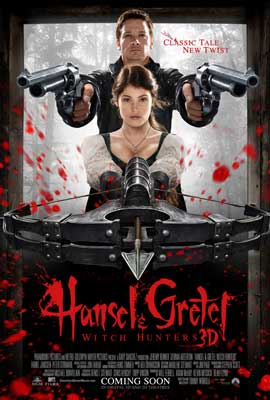 Hansel & Gretel: Witch Hunters - 11 x 17 Movie Poster - Style A