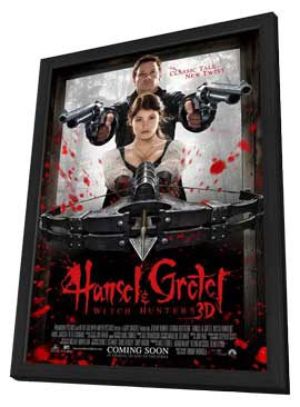 Hansel & Gretel: Witch Hunters - 27 x 40 Movie Poster - Style A - in Deluxe Wood Frame