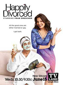 Happily Divorced (TV) - 11 x 17 TV Poster - Style A