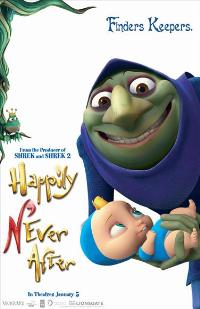 Happily N'Ever After - 27 x 40 Movie Poster - Style C