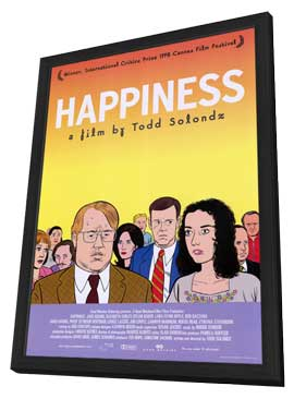 Happiness - 11 x 17 Movie Poster - Style A - in Deluxe Wood Frame