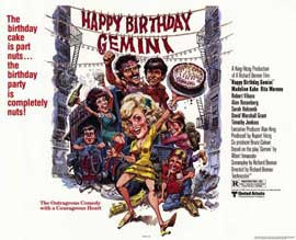 Happy Birthday, Gemini - 11 x 14 Movie Poster - Style A