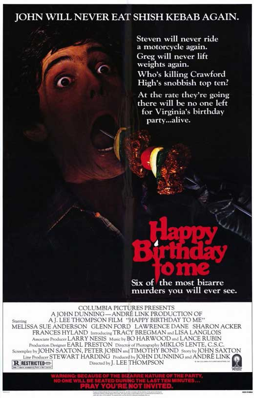 Film Review: Happy Birthday to Me (1981) | HNN