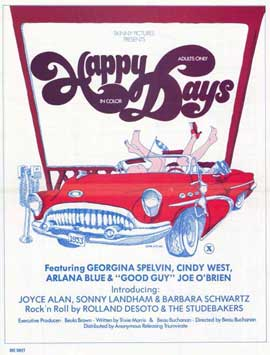 Happy Days - 11 x 17 Movie Poster - Style A