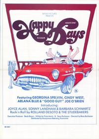Happy Days - 27 x 40 Movie Poster - Style A