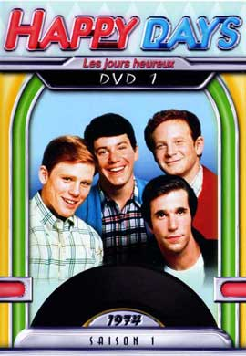Happy Days - 11 x 17 Movie Poster - French Style A