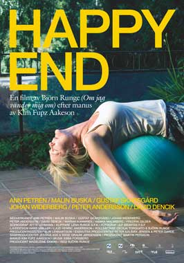 Happy End - 43 x 62 Movie Poster - Swedish Style A