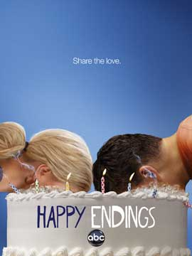 Happy Endings (TV) - 27 x 40 TV Poster - Style A