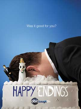 Happy Endings (TV) - 27 x 40 TV Poster - Style B