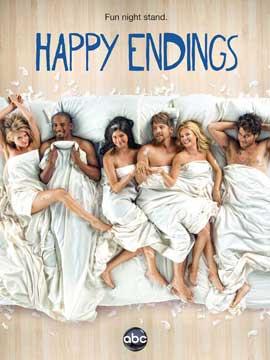 Happy Endings (TV) - 11 x 17 TV Poster - Style B