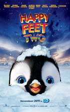 Happy Feet 2 in 3D - 11 x 17 Movie Poster - Style A