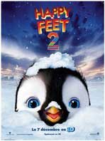 Happy Feet 2 in 3D - 43 x 62 Movie Poster - French Style A