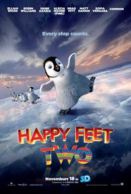 Happy Feet 2 in 3D - 27 x 40 Movie Poster - Style A