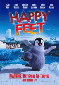 Happy Feet - 43 x 62 Movie Poster - Bus Shelter Style A