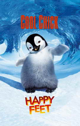 Happy Feet - 11 x 17 Movie Poster - Style B