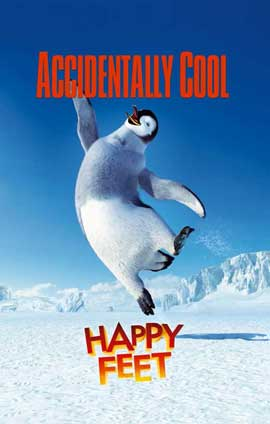 Happy Feet - 11 x 17 Movie Poster - Style C
