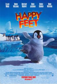 Happy Feet - 43 x 62 Movie Poster - Bus Shelter Style B