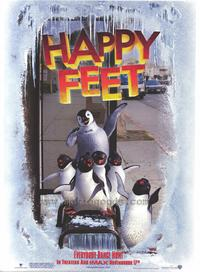 Happy Feet - 43 x 62 Movie Poster - Bus Shelter Style C