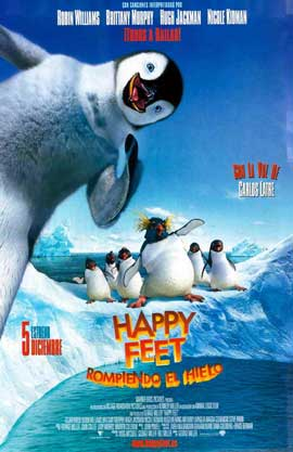 Happy Feet - 11 x 17 Movie Poster - Spanish Style A