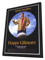 Happy Gilmore - 27 x 40 Movie Poster - Style A - in Deluxe Wood Frame