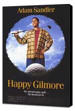 Happy Gilmore - 11 x 17 Movie Poster - Style A - Museum Wrapped Canvas