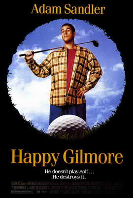 Happy Gilmore - 27 x 40 Movie Poster - Style A