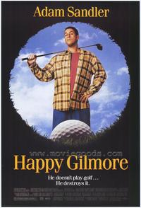 Happy Gilmore - 43 x 62 Movie Poster - Bus Shelter Style A