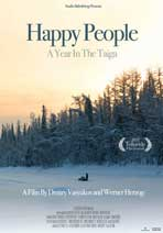 Happy People: A Year in the Taiga - 11 x 17 Movie Poster - Style B