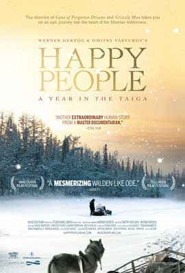 Happy People: A Year in the Taiga - 27 x 40 Movie Poster - Style A