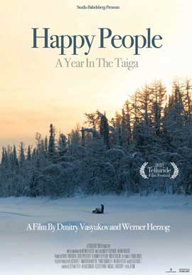 Happy People: A Year in the Taiga - 27 x 40 Movie Poster - Style B