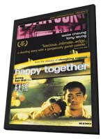 Happy Together - 11 x 17 Movie Poster - Style A - in Deluxe Wood Frame