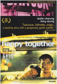 Happy Together - 43 x 62 Movie Poster - Bus Shelter Style A