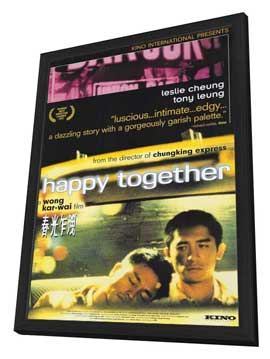 Happy Together - 27 x 40 Movie Poster - Style A - in Deluxe Wood Frame