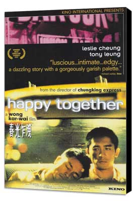 Happy Together - 27 x 40 Movie Poster - Style A - Museum Wrapped Canvas
