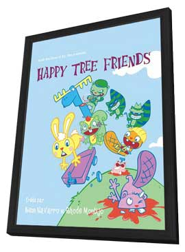 Happy Tree Friends (TV) - 11 x 17 TV Poster - France Style A - in Deluxe Wood Frame